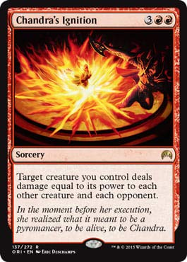 Magic: The Gathering - Chandra's Ignition - Magic Origins