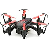 Megadream Nano 2.0MP HD Camera Hexacopter 2.4G 4CH 6Axis Headless Mode RTF RC Quadcopters - Red