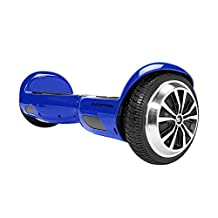 SWAGTRON T1 - UL 2272 Certified Hoverboard - Electric Self-Balancing Scooter Blue