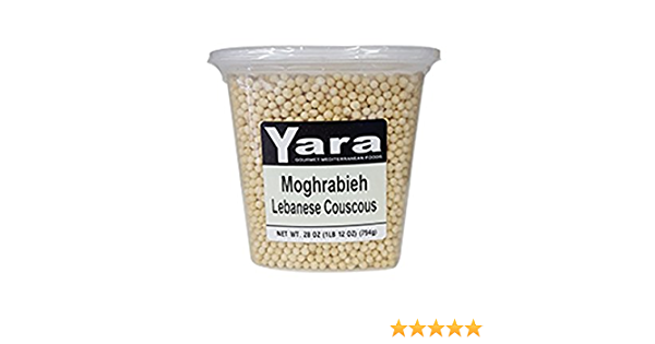 Amazon Com Moghrabieh Lebanese Couscous Container Or Bag Grocery Gourmet Food
