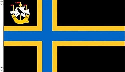 CAITHNESS COUNTY FLAG 3' x 5' - CAITNES FLAGS 90 x 150 cm - BANNER 3x5 ft - AZ FLAG