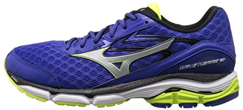 Pictures of Mizuno Men's Wave Inspire 12 Running Surf the Web/Silver 5