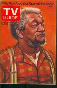 - TV Guide February 14-20, 1976 (Redd Foxx of Sanford and Son; Why They Axed Your Favorite New Show; Why The Waltons Don't Talk Right, Volume 24, No. 7, Issue #1194)