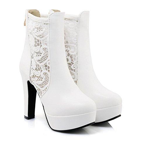 5 Blanc EU AdeeSu Femme Blanc 36 Plateforme xw6EEnvXC