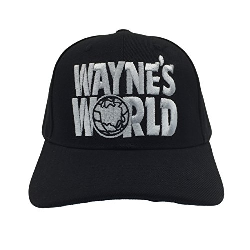 Wayne's World Hat Cap Waynes World Dad Hat Wayne Trucker Movie Baseball Snapback