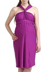 Momo Maternity Avery Infinity Wrap Dress