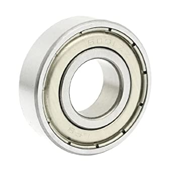 uxcell 6001ZZ Double Shielded Deep Groove Ball Bearings 28mm x 12mm x 8mm