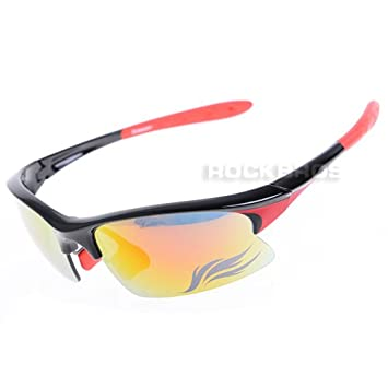 f607df41e0 GIANT Cycling Glasses Sports Glasses Sunglasses Goggles UV400 Protection  New (Black Red)