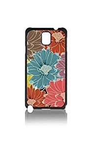 Colorful Daisy Florals Custom Hard Plastic back Phones Case for Samsung Galaxy Note3 n900 - Galaxy Note 3 Case Cover