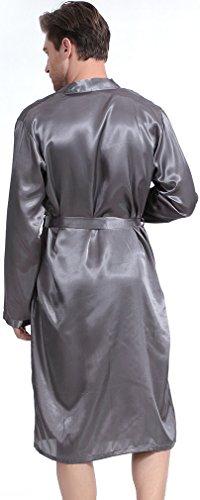 Accappatoi Uomo Flychen Gowns Pigiami Kimono Da Grigio Abbigliamento Vestaglie E Notte qSCZH5C