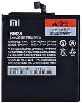 Xiaomi - Batería original BM35 para Mi4c 3080 mAh, Bulk