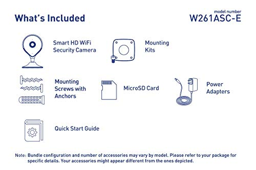 Lorex 1080p HD Smart Indoor Wi-Fi Security Camera with Person Detection, Two-Way Audio, and Smart Home Voice Control