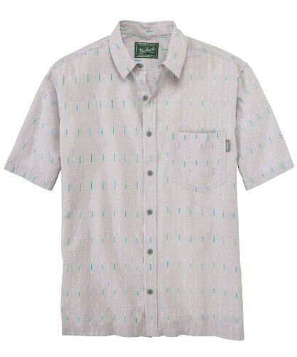Woolrich Men's Big Eye Shirt, DARK STONE (Gray), Size L