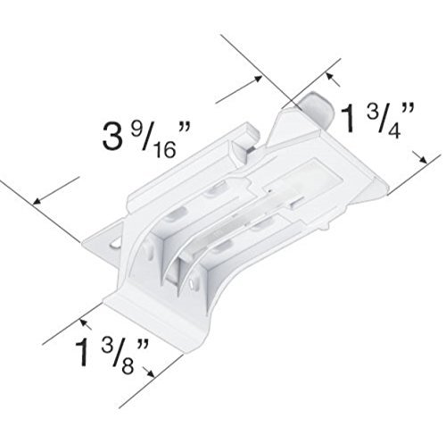 Qty.(3) Mounting Bracket for Hunter Douglas Silhouette or Nantucket Blinds