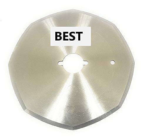 Best Blade for Round Knife Cloth Cutting Machine (110 mm, Silver) Price & Reviews