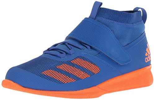 adidas Men's Crazy Power Rk Cross Trainer Blue/hi-res Orange/Collegiate Royal, 14 M US