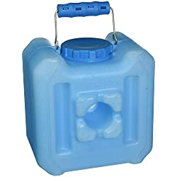 WaterBrick - Emergency Water and Food Storage Containers - 1.6 gal of Liquids/Up to 13 lb of Dry Foods, Blue