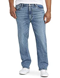 Men's Big & Tall Relaxed Straight-fit Stretch Jean fit by DXL