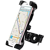 Andride Universal 360 Degree Rotating Mobile Phone Mount Stand For Bikes (Black)