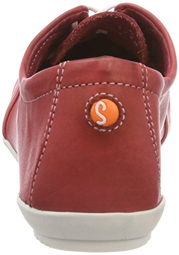 Softinos Ops421sof Washed, Scarpe Stringate Oxford Donna Rosso (Rosso)