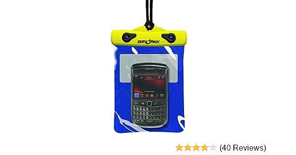 "Kwik Tek Dry Pak Cell Phone//Camera//GPS  Case 4/""x 8/"" with Lanyard and Belt Hook"
