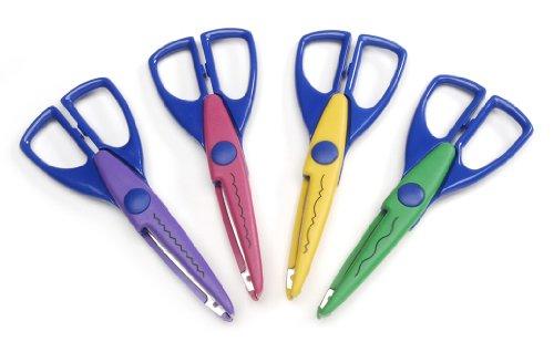 Darice Paper Edging Scissors 4 Pack