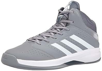 adidas Performance Men's Isolation 2 Basketball Shoe,Grey/White/Grey,7 M US