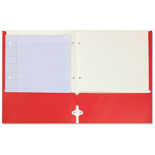 Bulk School Supplies Wholesale Lot Box of 96 Two Pocket Folders