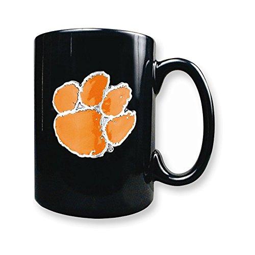 Collegiate Clemson University 15oz Black Ceramic Mug