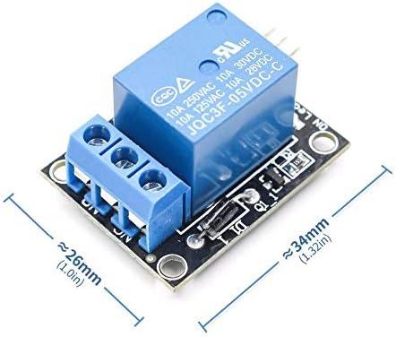 Blau 5-V-Relaismodul Ky-019 1-Wege-Relaismodul Relaismodul Hohe Qualit/ät