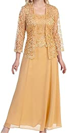 Amazon.com: Gold - Mother of the Bride / Wedding Party: Clothing ...