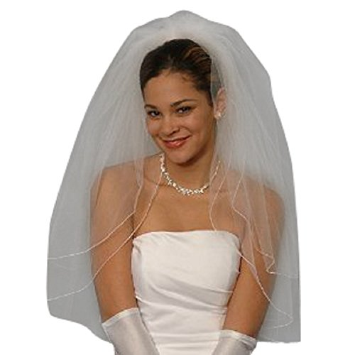 Shop Ginger Wedding Womens 2T Elbow Bridal Veil One Size