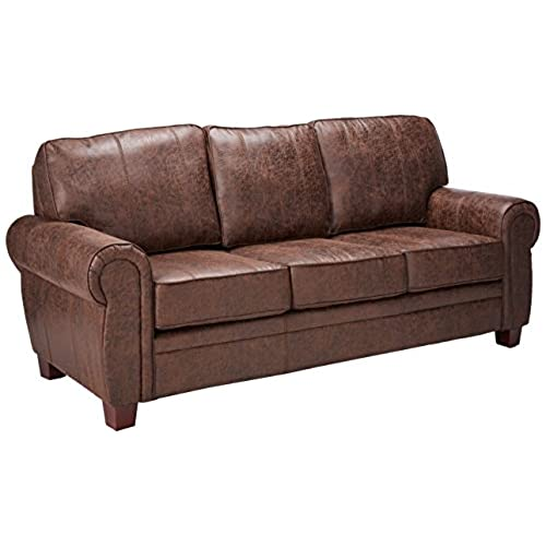 Coaster Allingham Traditional Dark Brown Elegant And Rustic Family Room Sofa