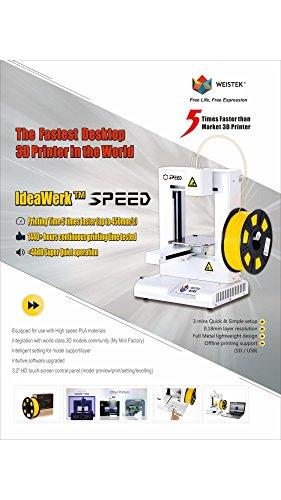 IdeaWerk Speed 3D desktop Printer Printers Shenzhen Weistek Co., Ltd
