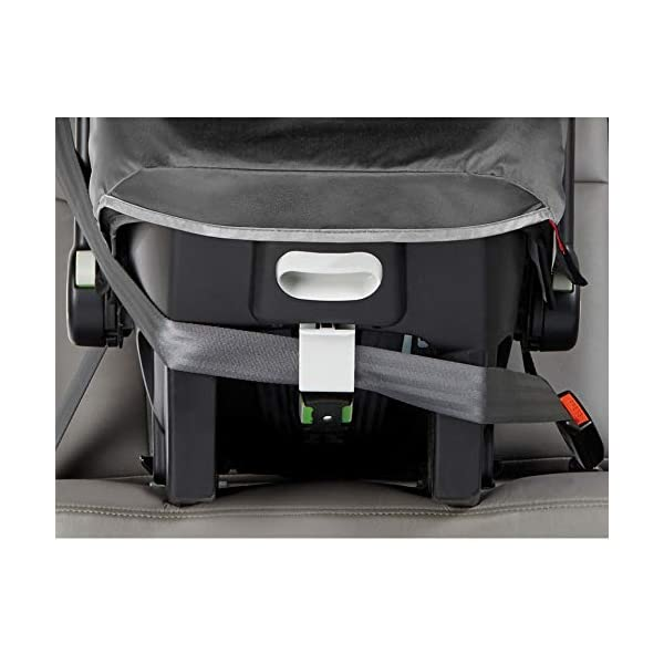 Baby Jogger City Go Infant Car Seat And Base Steel Gray