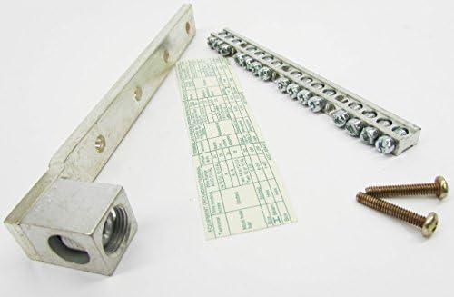 SCHNEIDER エレクトリックロードセンター機器 Grd Bar 銅製ラグ付き PK15GTAL 手動スターター南京錠デバイス Iec
