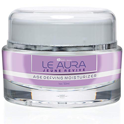 Le Jeune Aura Revive - Age Defying Moisturizer - Anti Aging Night Cream - Feel the youth and beauty return to your skin each night as you treat your face with our gentle yet potent skin cream