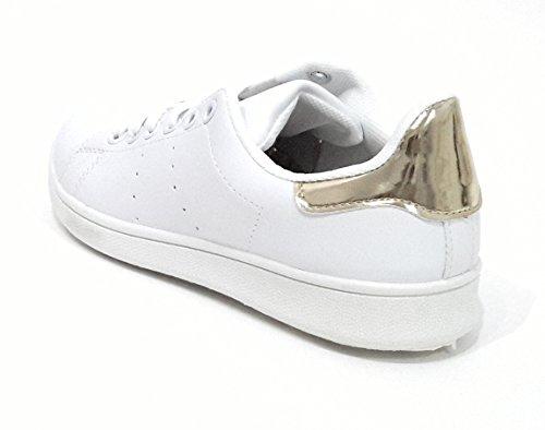 706582f92c245 Zapatillas Blancas de Mujer Sneakers Estilo Casual y Deportivo ...