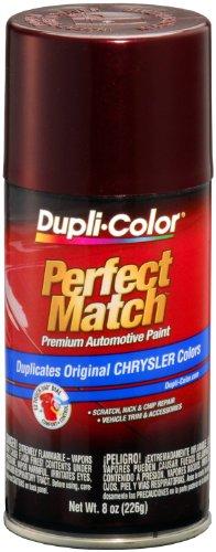 (Dupli-Color EBCC04007 Deep Cranberry Pearl Chrysler Perfect Match Automotive Paint - 8 oz.)