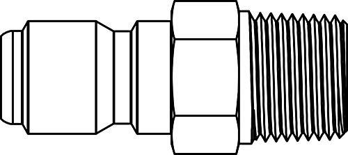 1//2-14 MP Tompkins ST-08M-08MP-S Quick Disconnect 3500 psi 1//2 ST-M-MP Tip Steel 1//2 ST-M-MP Tip