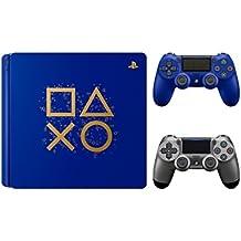 [Patrocinado] Playstation 4días de Play edición limitada 1TB consola con extra acero negro DualShock 4driver inalámbrico Bundle