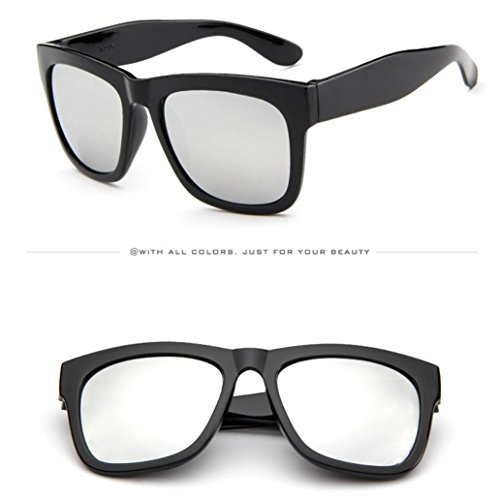 bianco Colori Specchietto sole da sole Retro Occhiali 6 Bright Occhiali Aviator da da Uomo Mercury nero Casual Moda in Unisex e sole Occhiali Adeshop Donna 1n5ZwqTzPn