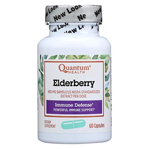 Quantum Elderberry Immune Defense Extract - 400 mg - 60 Capsules ()