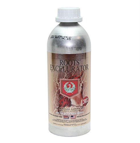 House & Garden Roots Excelurator, Gardening Root Stimulator Plant Starter Solution, Silver ()