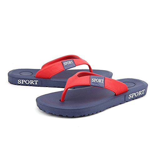 Sunny 8 amp;Baby Sandals Slipper Color Thong 5 MUS Blue Flops Classic Men's Durable Flip Black Size YYwq7rd
