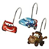 Disney Pixar Cars 2 Arrows Resin Shower Curtain Hooks