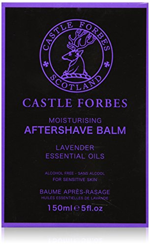 Castle Forbes Lavender Oil Aftershave Balm 5oz by Castle Forbes