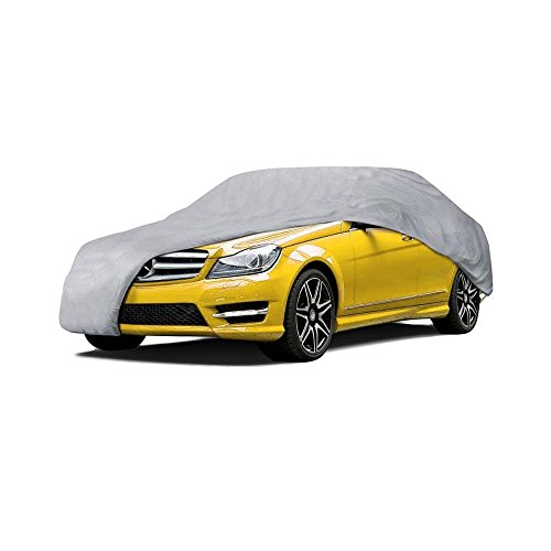 PRÜUF Heavy Duty Executive Car Cover | 3 Under Car Straps | Fully...