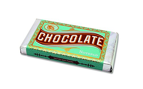 Chocolate Notepad by Chronicle Books