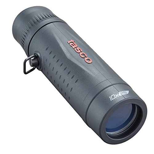 TASCO 568125 Essentials Roof MC Box Monocular, 10 x 25mm, Black